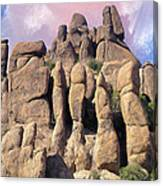 Hoodoo In The Superstition Mountains Canvas Print