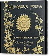 Hoods Humorous Poems Canvas Print