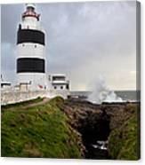 Hook Head Lighthouse Canvas Print