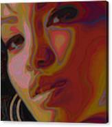 Hoops And Bangs Canvas Print