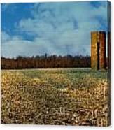 Hoosier Farm Canvas Print