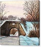 Hootiesappertapperbridgebug. Canvas Print