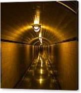 Hoover Dam Art Deco Tunnel Canvas Print