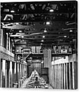 Hoover Dam Generators Canvas Print