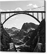 Hoover Dam Memorial Bridge Canvas Print