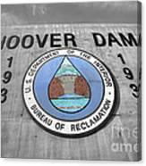 Hoover Logo  Canvas Print