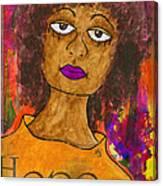 Hope For Tomorrow - Journal Art Canvas Print