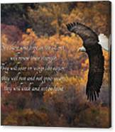 Hope In The Lord Canvas Print