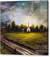 Hope In The Valley Canvas Print