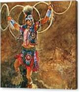Hopi Hoop Dancer Canvas Print