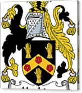 Hopkins Coat Of Arms Irish Canvas Print