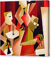 Horace Parlan Trio - Christiania - Copenhagen Canvas Print