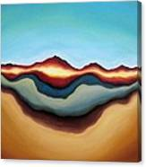 Horizon Of Ages Canvas Print