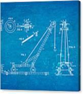 Hornby Meccano Patent Art 1906 Blueprint Canvas Print