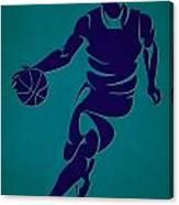 Hornets Basketball Player3 Canvas Print
