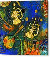 Horns And Other Things Canvas Print
