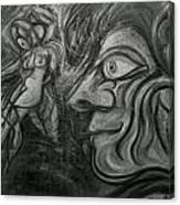 Horny Hunter Canvas Print