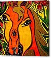 Horse - Animal - Friend Canvas Print