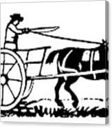 Horse & Cart, 19th Century Canvas Print
