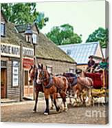 Horse Carriage Canvas Print