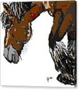 horse - Guus Canvas Print