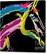 Horse- Lovely Colours Canvas Print