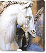 Horse Of Neptune Canvas Print