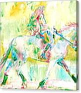 Horse Painting.19 Canvas Print