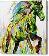Horse Painting.26 Canvas Print