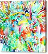Horse Painting.29 Canvas Print