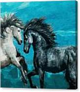 Horse Paintings 011 Canvas Print