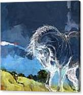 Horse Paintings 012 Canvas Print