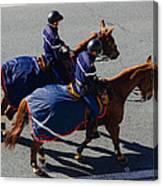 Horse Police Canvas Print