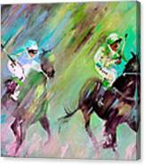 Horse Racing 04 Canvas Print