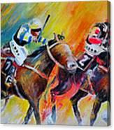 Horse Racing 05 Canvas Print