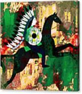 Horseman Canvas Print