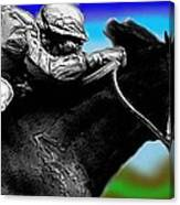Horseracing Canvas Print
