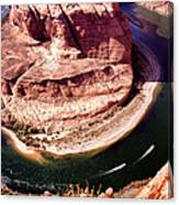 Horseshoe Bend Boat Race - Page Arizona Canvas Print