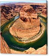 Horseshoe Bend - Nature's Awesome Work Canvas Print