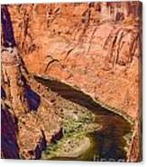 Horseshoe Canyon Canvas Print
