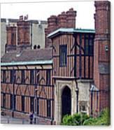 Horseshoe Cloisters Windsor Canvas Print