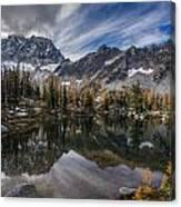 Horseshoe Lake Cloud Dramatic Canvas Print