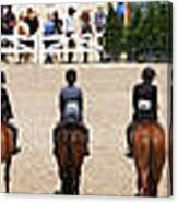 Horseshow Pano Canvas Print