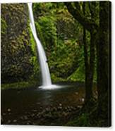 Horsetail Falls Columbia River Gorge Canvas Print