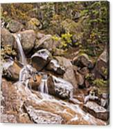 Horsethief Falls - Cripple Creek Colorado Canvas Print