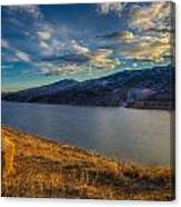 Horsetooth Reservoir Late Afternoon Canvas Print