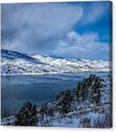 Horsetooth Reservoir Looking North Canvas Print