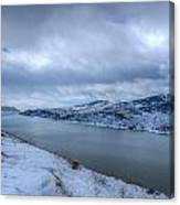 Horsetooth Reservoir Looking South Canvas Print