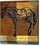 Horso - 70s01br02t Canvas Print