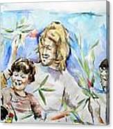 Hosanna Israel Canvas Print